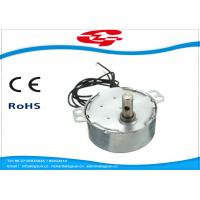 Best 1.5RPM Home Ac Electric Motor , Silver Color Synchronous Ac Motor 49TYD Low Noise wholesale