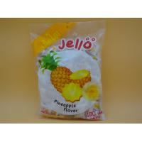 Buy cheap Pineapple Flavor Original Fresh Chewy Milk Candy With Fruit Jelly Red Color from wholesalers