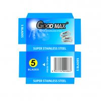 Best Goodmax Double Edge Stainless Steel Blades , Silver Men'S Shaving Razor Blades wholesale