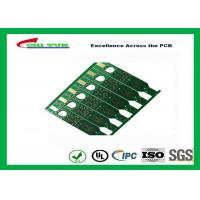 Best 2 Layer Flash Gold PCB Green Solder Mask Quick Turn PCB Prototypes Fiducial Marks Add wholesale