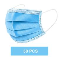 China Breathable Disposable Surgical Face Masks 3 Ply  With Elastic Ear Loop on sale