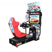 "Best Double Racing Arcade Machine , Video Game Machine With 32"" Hd LCD Display wholesale"