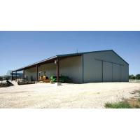 China Anti-corrosion Metal Building Warehouse With Sandwich Panels on sale