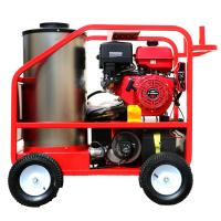 Best Red Hot Water High Pressure Cleaner , Electric Steam Cleaner Pressure Washer wholesale