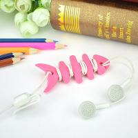 Best Colorful Households Products Earphone Line Twister Fishbone Cable Holding Management wholesale