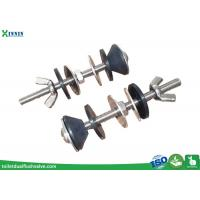 Best Solid Stainless Steel Toilet Bolts / WC Bolt For 2 Pieces Toilet , Long Endurance wholesale