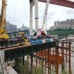 Best Standard Bailey Bridge Panel Q345B Steel Green Painted For Construction wholesale