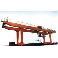 Buy cheap 40t Double Girder Transtainer Gantry Electric Overhead Travelling Crane for Project from wholesalers