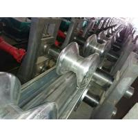 Best CSA Freeway Two Waves Guardrail Roll Forming Machine by Panasonic PLC Control wholesale
