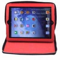 Best Embossed Neoprene Tablet Cover for iPad 3, with Convenient Hand Touch wholesale