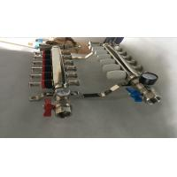 Best S S 201 Floor Heating Manifold With Two Ball Valve / Brass Water Manifold wholesale