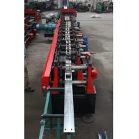 Best Customized C Z Purlin Roll Forming Machine , Electric Fully Automatic PLC  Control Export Macedonia wholesale