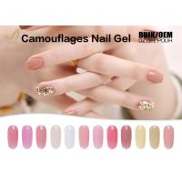 Best 15ml Camouflage Nail Gel No Heat Builder Gel With 24 Colors Sample Provided wholesale