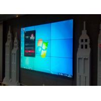 Best 55 Inch 3x3 Video Wall LCD Monitors , Large LCD Display With 3.5mm Narrow Bezel wholesale