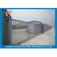 Best 2m Height Automatic Sliding Gates For Driveways High Performance RAL 256 Colors wholesale