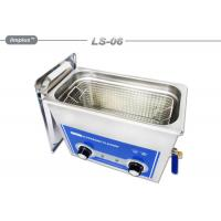Quality Hardware Oil 6L Removal Tabletop Ultrasonic Cleaner With Basket wholesale