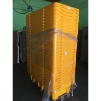 Best Four Drum Spill Containment Pallets , HDPE Oil Drum Containment Pallet Stackable wholesale