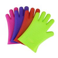 Best newest design promotional silicone gloves for oven wholesale