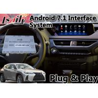 Buy cheap Android 7.1 Multimedia Video Interface for Lexus UX200 Touchpad Control GPS from wholesalers