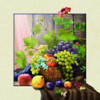 Best 5d Natural Flowers 20 x 20cm Poster Custom Lenticular Printing For Wall Art Hanging wholesale