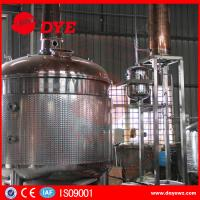 Best stainless steel copper bubble cap high quality distillery equipment vodka distillery wholesale