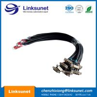 Best Large Current Combo Soldering Wiring Harness 3W3 2F - 1M FMK2G D Shaped Connector wholesale