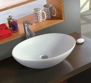 Best sanitary ware round shape shampoo basin wall mounted wash basin wholesale