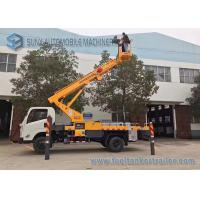 Quality JMC 4x2 20m telescopic work platform high altitude operation truck wholesale
