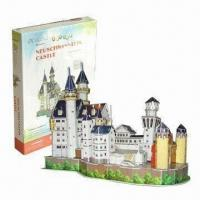 Best 3D Puzzle with Full Color Printing in High Quality Foam and Paper wholesale