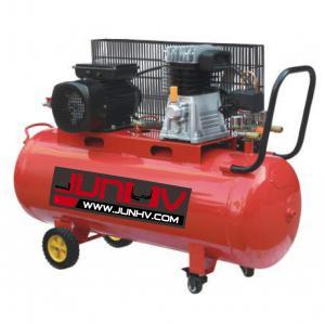 Best 220V Oil Lube Auto Shop Air Compressor 3HP 250 Air Displacement L/Min - CFM 100L wholesale