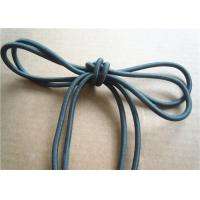 Best Colored Cotton Cord for garment Braided Fabric Waxed Cotton Cord for Shoelace wholesale