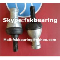 China Carbon Steel Straight Ball Joint Bearings SQZ6-RS / SQZ8-RS with Ball Stud on sale