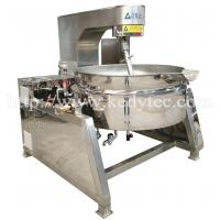 Quality Tilting Steam Jacketed Kettle With Mixer/Agitator wholesale