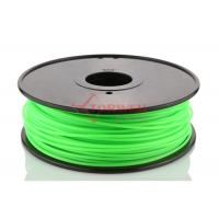 Best Makerbot UP 3D Printer 3MM PLA Filament Fluorescent Green , 3D Printing Filament wholesale