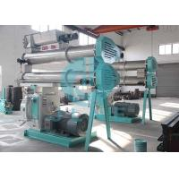 China Ring Die Fish Feed Processing Machine With Full SS Conditioner High Output on sale