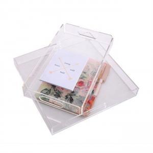 Best Lucite Custom Acrylic Fabrication Acrylic Serving Tray Acrylic Sheet Cut To Size wholesale