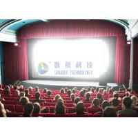 Cheap Large-scale 4D Movie Theater Computer Controlled With Mobile Seats for sale