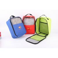 Best 600D Polyester Shoes Bag With Mesh In Front wholesale