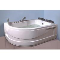 Best Air Bath Tub With Heater , 2 Person Jacuzzi Tub Indoor Handle Shower Included wholesale