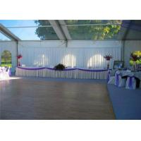 Best Retardant Waterproof White Cover Aluminum Luxury Wedding Event Tents With White Roof wholesale