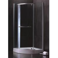 Cheap Single Sliding Door Quadrant Shower Enclosures Hinged Open Style Elegant for sale