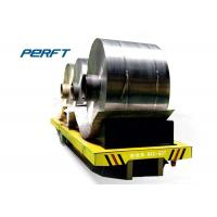 China 20 Ton Die Transfer Cart , Sheet Metal And Coils Material Handling Equipment on sale