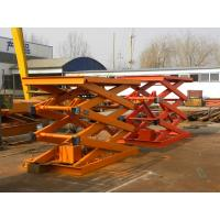 Best China Stationary Scissor Car Lift Platform with low price wholesale