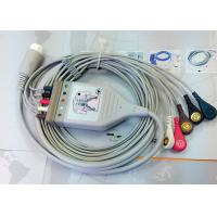 Best Medical Compatible ECG Patient Cable 12 Pin One Piece Ecg Cables And Leadwires wholesale