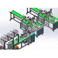 Best Full Automatic Disposable Mask Making Machine Stable Control Adjustable Speed wholesale