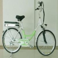 Buy cheap Solar Power Electric Bike/Cheap Bike/New Style Bicycle, 20km/Hour Speed and 24 from wholesalers