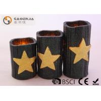 Best CE / RoHS Approved Halloween Battery Operated Candles 7.5cm Diameter wholesale