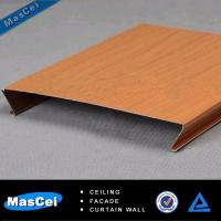 Best u Shape Aluminum Faux Wood Strip Ceiling wholesale