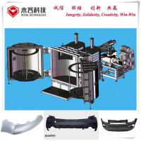 Best Pvd Chrome Vacuum Metallizer Machine Thermoforming For Plastic Car Front Rear Bumper wholesale