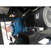 Best 45KW 0.6bar high reliability oil free screw blowers for sewage treatment wholesale